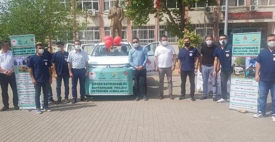 """""""Baytarname (Hayvan Ambulansı) Projesi"""" Tanıtımı Yapıldı"""
