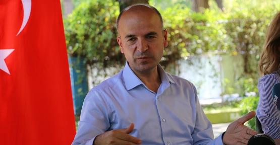DİKA Genel Sekreteri Ahmet Alanlı, Basın Mensuplarıyla Buluştu