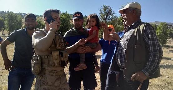 Eruh'ta Kaybolan 3. Yaşındaki Çocuk, Jandarma Tarafından Ağaçlık Alanda Bulundu