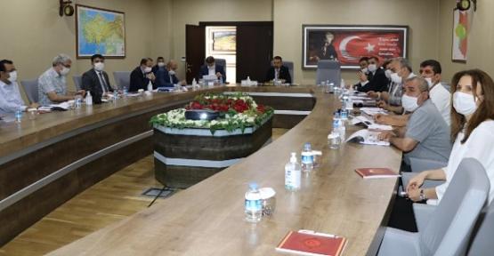 Köydes Yatırım Değerlendirme Toplantısı, Vali Hacıbektaşoğlu Başkanlığında Yapıldı