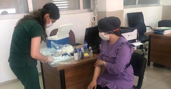 Özel Siirt Hayat Hastanesinde Yapılan Antikor Testine Yoğun İlgi