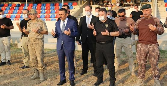 Vali Hacıbektaşoğlu,Güvenlik Güçlerimiz İçin Düzenlenen Kurban Kesim Törenine Katıldı
