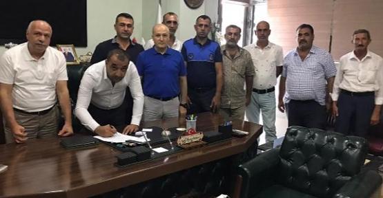Veysel Karani Belediyesi ile Belediye İş Sendikası Siirt Şubesi Arasında Toplu İş Sözleşmesi İmzalandı