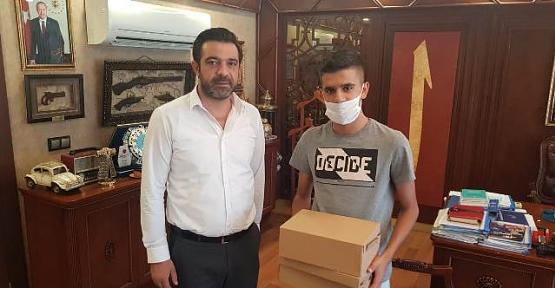 AK Parti İl Başkanı Av. Ekrem Olgaç, Besyo'ya Hazırlanan Genci Sevindirdi