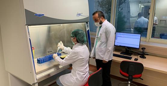 Covid-19 PCR Laboratuarı, Hizmet Vermeye Başladı