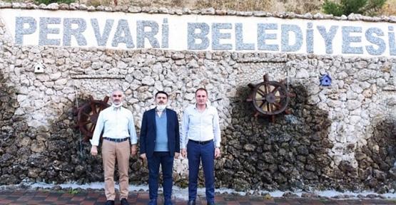 Kaymakam Tunç ve Başkan Özcan'dan Esnafa Bayram Ziyareti