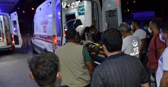 Siirt'te Pat Pat Devrildi: 4 Yaralı