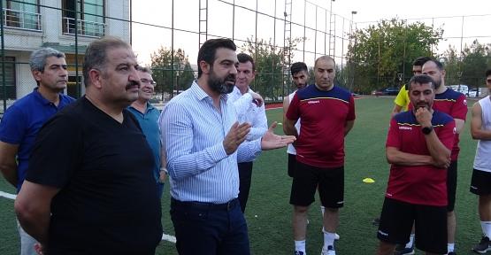 AK Parti  İl Başkanı Av. Olgaç, Siirt İl Özel İdare Spor'un Maddi Manevi Yanındayız