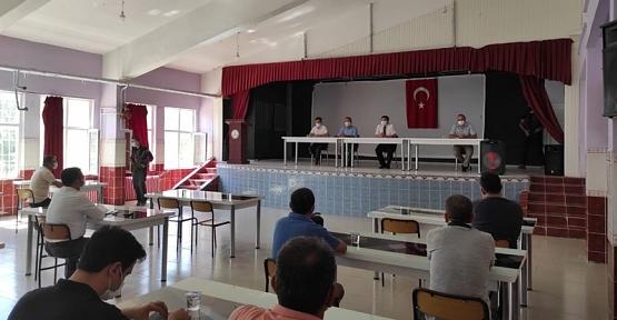Baykan'da 2020-2021 Eğitim ve Öğretim Yılı Açılışı Müdürler Kurulu Toplantısı Yapıldı
