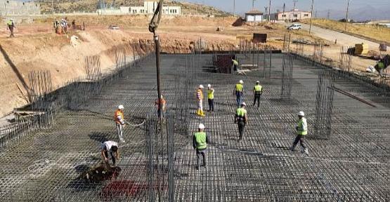 Çinko Metal Külçe Üretim Tesisinde Çalışmalar Hızla Devam Ediyor