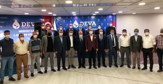DEVA Partisi Merkez İlçe Kongresi Yapıldı
