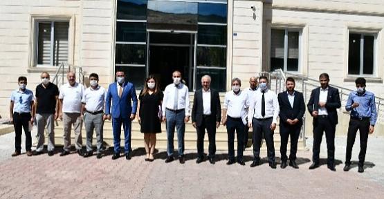 İl Milli Eğitim Müdürü Deniz Edip Başkanlığında İlçe Milli Eğitim Müdürleri Toplantısı  Pervari'de Yapıldı