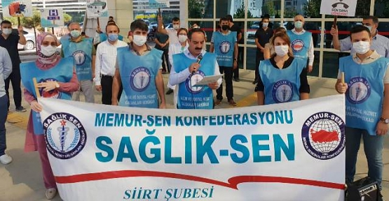 Vesim Eviz, Sağlık Çalışanlarının Sesi Duyulmalı!