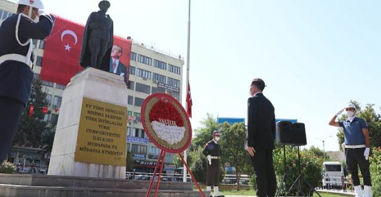 Siirt'te 19 Eylül Gaziler Günü Törenlerle Kutlandı