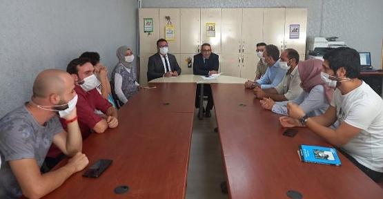 Şirvan Kaymakamı Recep Hasar'dan Okul Ziyaretleri