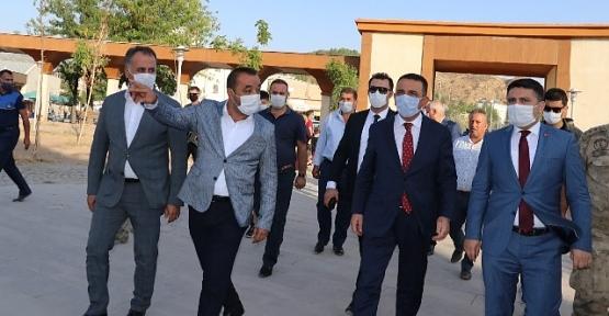 Vali Hacıbektaşoğlu, Baykan İlçesi ve Veysel Karani Beldesini Ziyaret Etti