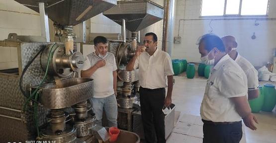 Tarım ve Orman İl Müdürü Ergün Demirhan, Kırsal Kalkınma Yatırımları Kapsamında Desteklenen İşletmeleri Ziyaret Etti