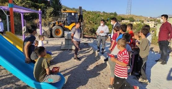 Baykan Kaymakamı/Belediye Başkan V. Mehmet Tunç Çocuklara Verdiği Sözü Tuttu