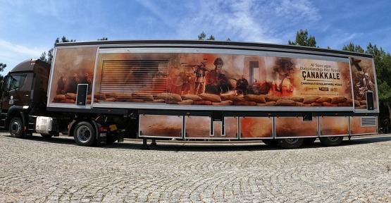 Çanakkale Savaşları Mobil Müzesi, 24-25 Ekim'de Siirt'te