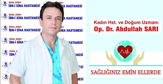 Dr. Abdullah Sarı, Gebelikte Görülen Mide Bulantıları İle İlgili Alınabilecek Önlemler Hakkında Bilgi Verdi