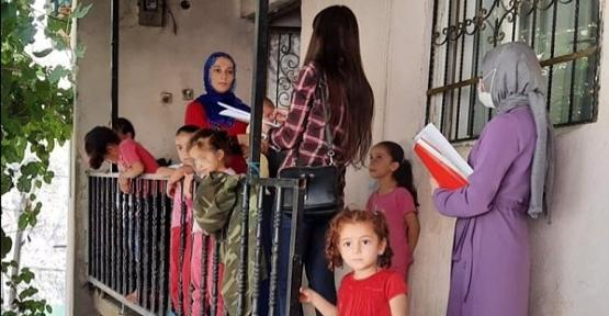 Pervari'de Uzaktan Eğitim Seferberliğinde Öğretmenler 8 Bin 706 Öğrenciye Ulaştı