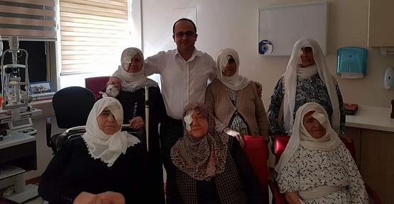 Siirtliler Göz Doktoru Şaban Kılıç'ın İlimizden Ayrılmasını İstemiyor