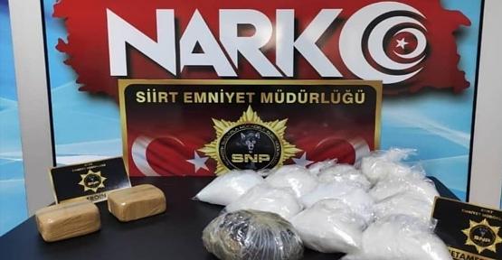 Siirt'te Uyuşturucu Taciri 4 Kişi Tutuklandı