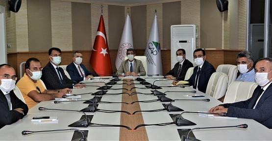 Tarım ve Orman İl Müdürü Ergün Demirhan, 2021 GAP Projeleri Toplantısına Katıldı