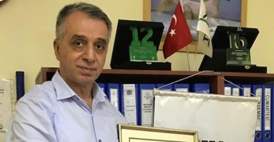 TEMA Vakfından Hasan Gök'e Teşekkür Plaketi