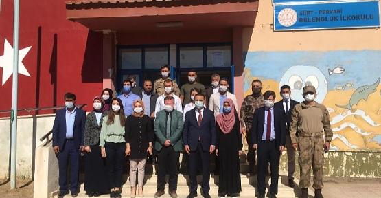 Vali Hacıbektaşoğlu, Pervari İlçesine Bağlı Doğan ve Belenoluk Köylerini Ziyaret Etti