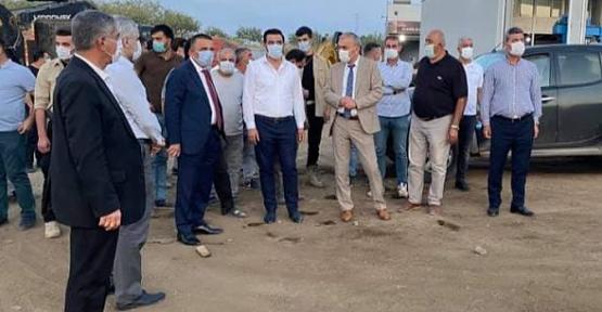 Vali Hacıbektaşoğlu, Sanayi Sitesinde İncelemelerde Bulundu