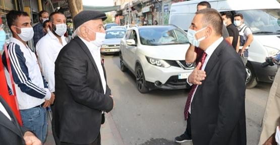 Vali Osman Hacıbektaşoğlu, Kurtalan İlçesini Ziyaret Etti