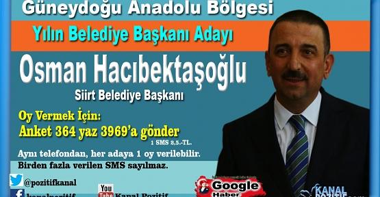 Yılın Belediye Başkanını Halk Seçiyor