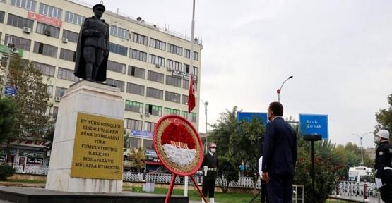Siirt'te 10 Kasım Atatürk'ü Anma Günü Töreni Düzenlendi