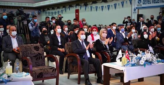 DEVA Partisi Genel Başkanı Babacan Siirt Kongresine Katıldı