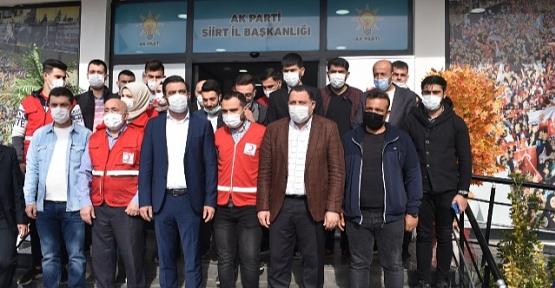 AK Parti İl Teşkilatı Kan Bağışında Bulundu