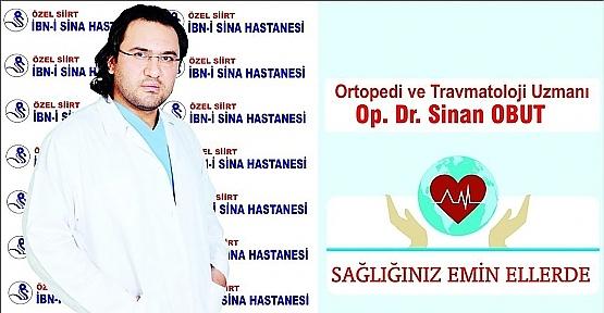 Dr. Sinan Obut, Kemik Erimesini Doğru Beslenme İle Durdurmak Mümkün