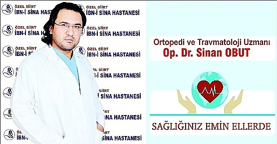 Dr. Sinan Obut, Pandemi Döneminde Kemik Kırığı ve Tedavisi İle İlgili Bilgi Verdi