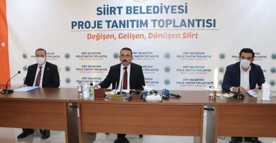Vali ve Belediye Başkan Vekili Hacıbektaşoğlu, Önümüzdeki 3 Yılda Yapılacak Projeleri Tanıttı!