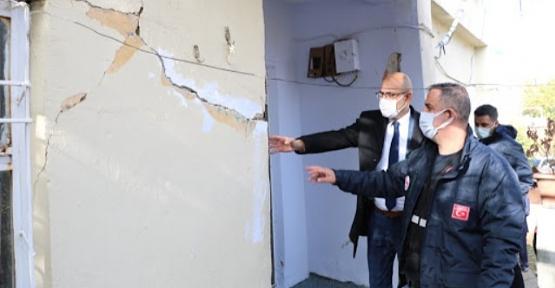 Çevre ve Şehircilik İl Müdürü Bülbül, Deprem Zarar Tespitlerimizi En Kısa Zamanda Tamamlayacağız
