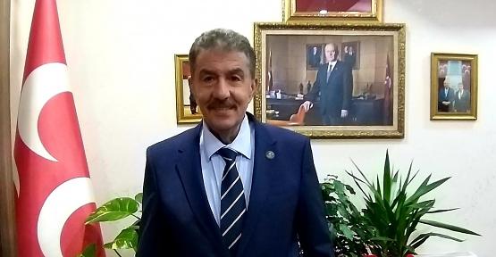 MHP Siirt il Başkanı Fatih Cantürk'ün Yeni Yıl Mesajı