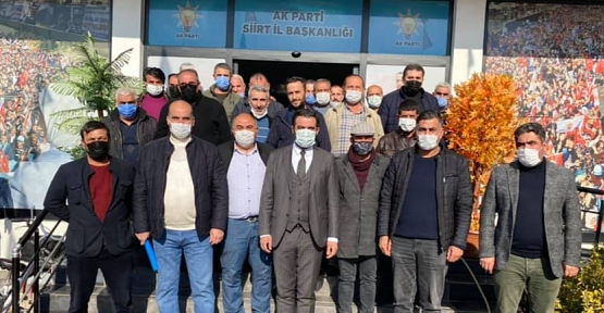 AK Parti İl Başkanı Av. Ekrem Olğaç, Taksicilerin Sorunlarını Dinledi