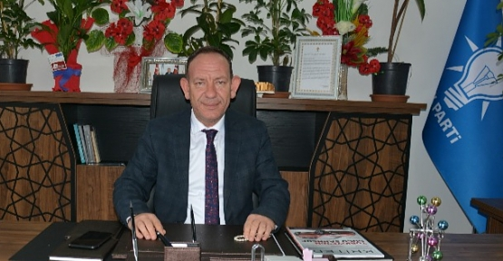 AK Parti Merkez İlçe Başkanı Öner Geyik'ten Yeni Yıl Mesajı