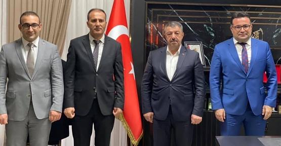 Kaymakam Hasar, Başkan Cellek'ten Kurum Müdürlerine Ziyaret