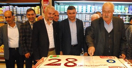 Murat Market'in Başarılı Müdürü Levent Baran İlimizden Ayrıldı