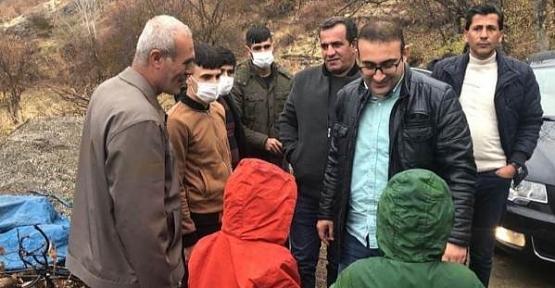 Şirvan Kaymakamı Recep Hasar'dan Köy Ziyaretleri