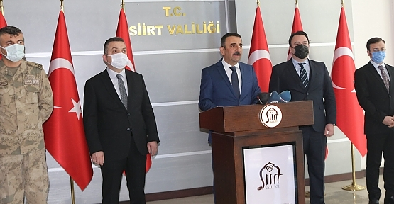"""Vali Hacıbektaşoğlu,""""Hastanede Yoğun Bakım Doluluk Oranını Yüzde 16'ya Düştü"""""""