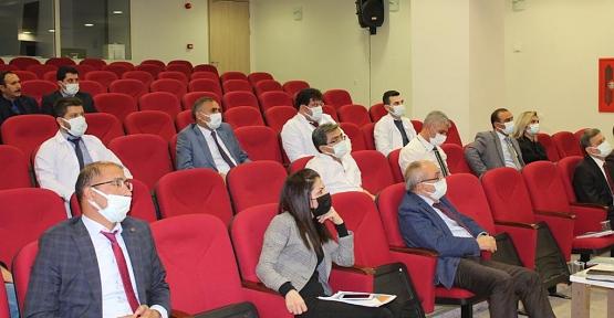Siirt Eğitim ve Araştırma Hastanesi bünyesinde Verilen Sağlık Hizmetleri Toplantıda Ele Alındı
