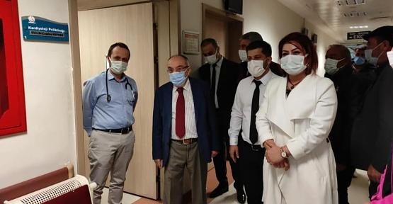 Başhekim Prof. Dr. Selahattin Vural, Sorun ve Talepleri Dinledi
