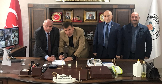 Atabağı Belediyesi İle Belediye İş Sendikası Siirt Şubesi Arasında Toplu İş Sözleşmesi İmzalandı